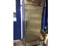 True commercial upright fridge. Can be seen working £375