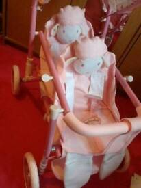 Baby Annabelle twin buggy