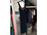 Blue Glamorous Maxi Dress