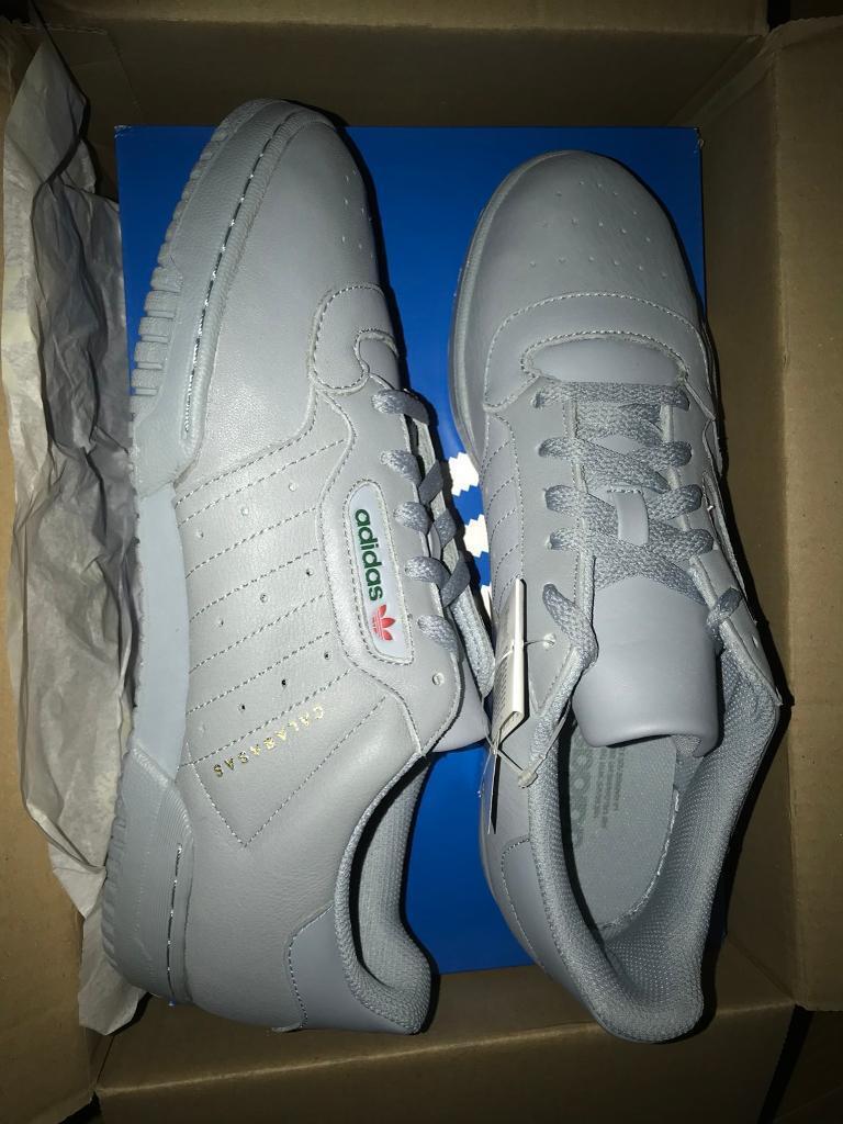 716bde1fff012 adidas YEEZY POWERPHASE CALABASAS grey size 9