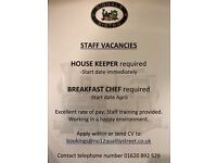 House keeper Required North Berwick