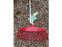 Leaf rake and multichange handle Wolf Garten