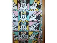 MINNIE MOUSE PAIR OF CURTAINS