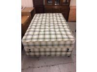 3/4 divan bed complete