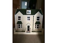 Doll's house made by collector