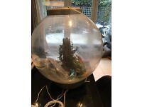 BiOrb Classic 60 litre aquarium plus decorations - used