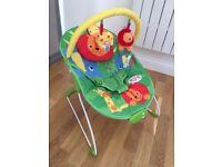 Mothercare Safari Bouncer baby rocker