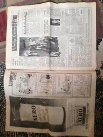 Nov 23rd 1963 Daily Mirror News Paper