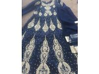 Stunning Embroidered Occasion Dress