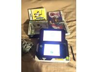 Nintendo 3DS black XL basically new.
