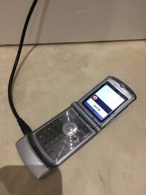 Motorola RAZR V3i Mobile Phone with original box