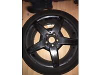 Mercedes CLA SPARE 18 inch alloy with wheel studs