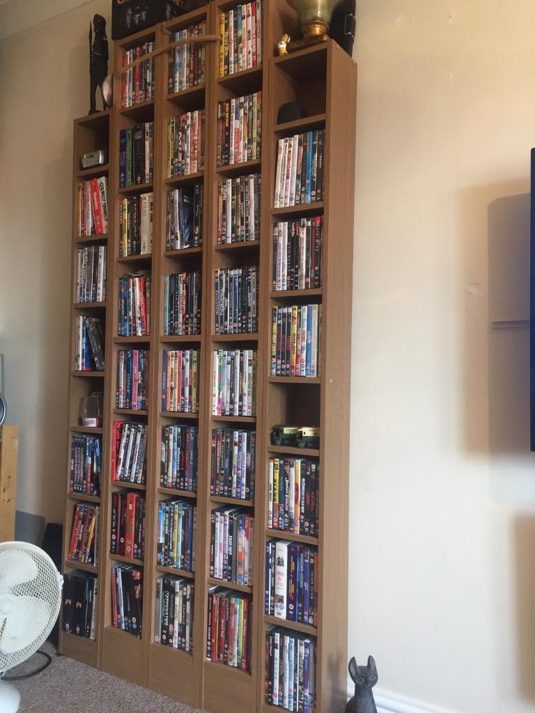 DVD games storage units