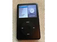 iPod classic 80gb with Belkin case & charger