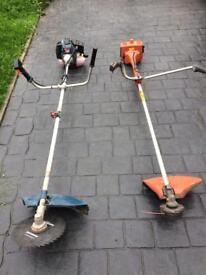Bush cutter and strimmer