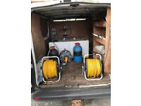 Water fed pole window cleaning system vauxhall vivaro