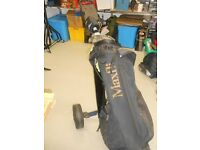 John Barnes Irons, Golf Bag and Trolley