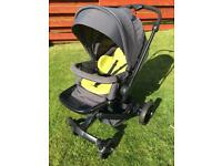 Hauck Twist Travel System/Pram in Lime Green