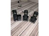 Binatone cordless phones + voicemail