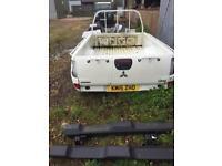 Used, L200 rear tub for sale  Llandysul, Ceredigion