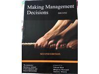 Making Management Decision - Business Management book