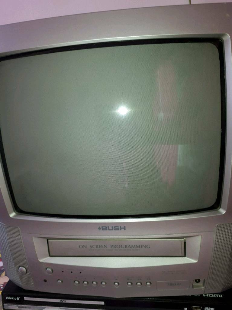 Bush Tv Vhs Combo Dvd Player In Wolverhampton West