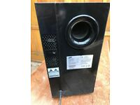 FREE Samsung wireless and active subwoofer