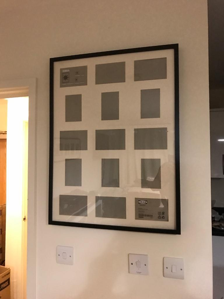 Ikea ribba picture frame for 15 pictures black in london gumtree ikea ribba picture frame for 15 pictures black jeuxipadfo Images