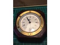 Rare Vintage Barigo Ships Desk Clock