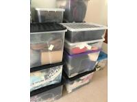 21+ boxes of vintage clothing - new business job wholesale online jackets dresses retro fashion