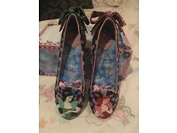 Irregular Choice Cinderella shoes size 6/39