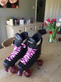 Ventro pro skates roller boots size 5