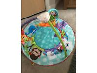 Fisher price precious planets all around baby gym