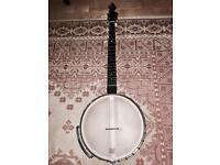 """Gold Tone BC-350 Bob Carlin 12"""" Pot Open Back banjo"""