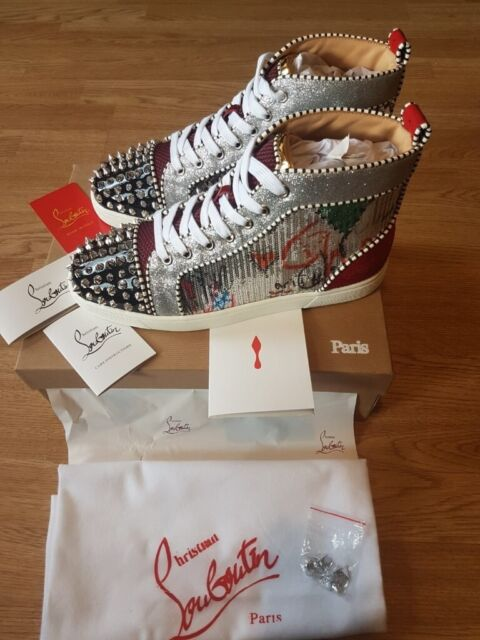 official photos b4eaf 0fd70 Christian Louboutin- Men's Spikes Sneakers (Multicolor Exclusive) | in  Westminster, London | Gumtree