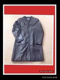 Brand new ladies leather coat.