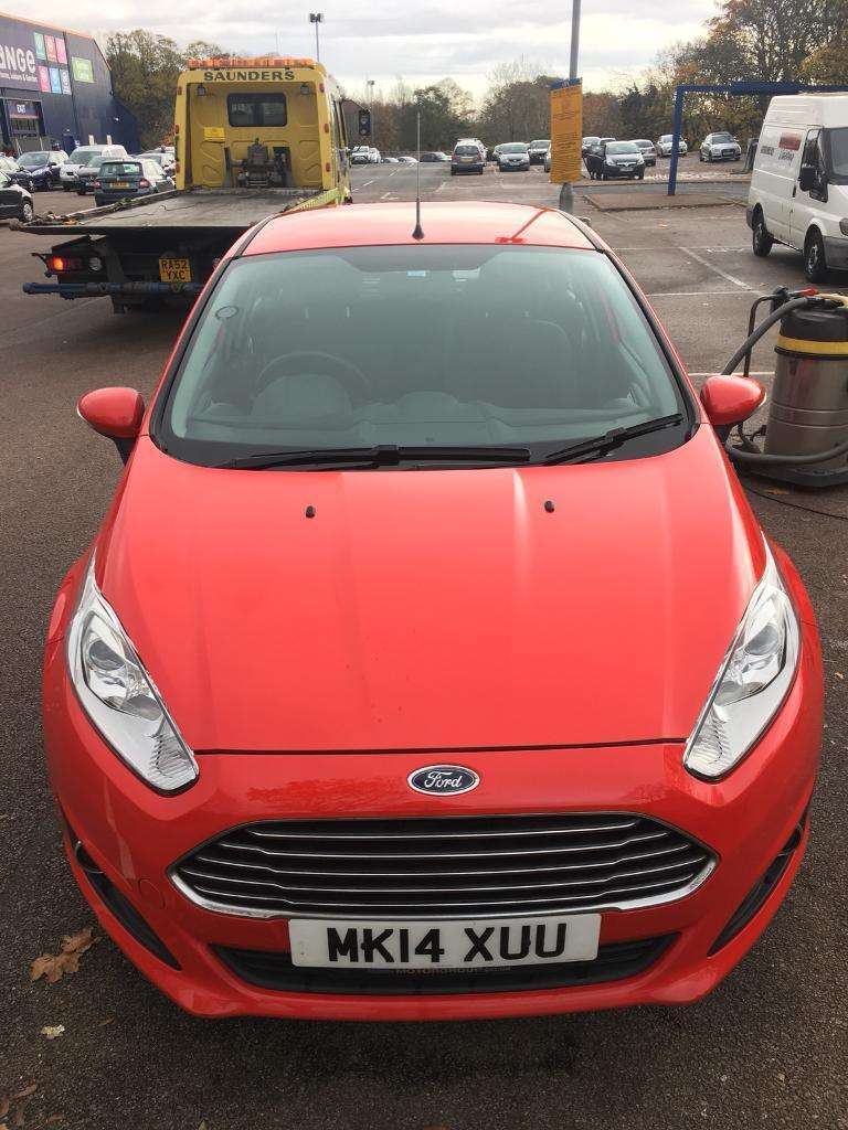 Ford Fiesta 1L Ecoboost, 5dr, low miles