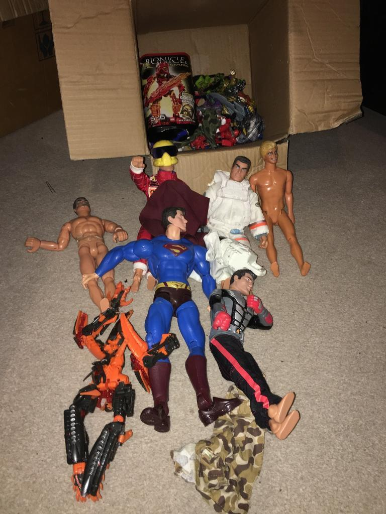 Action men and other bits including superman