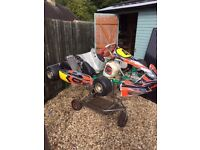2012 Tony Kart with Snr Rotax engine (retirement package)