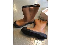 Arco Safety Rigger Boots Lined Size 8 New