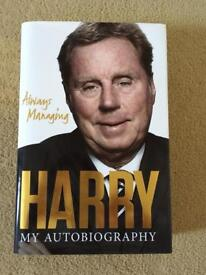 Harry Redknapp autobiography