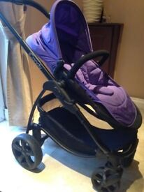 ICANDY strawberry pram for sale