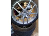 17 inch rims and tyres very good condition