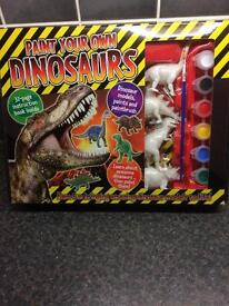 Paint your own dinosaur