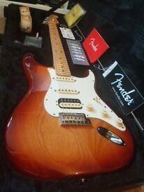Fender Stratocaster USA 2016 Sienna sunburst