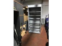 Tall Metal Shelving Unit