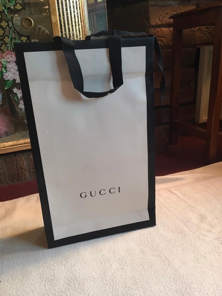 Gucci empty gift bag size 38x23x8cm £3