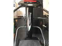 Black PowerTech Vibration Power Plate Oscillating Fitness exercise machine