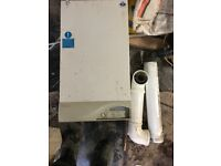 Boiler second hand fully working central heating with flue
