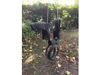 Horse, pony, tyre swing